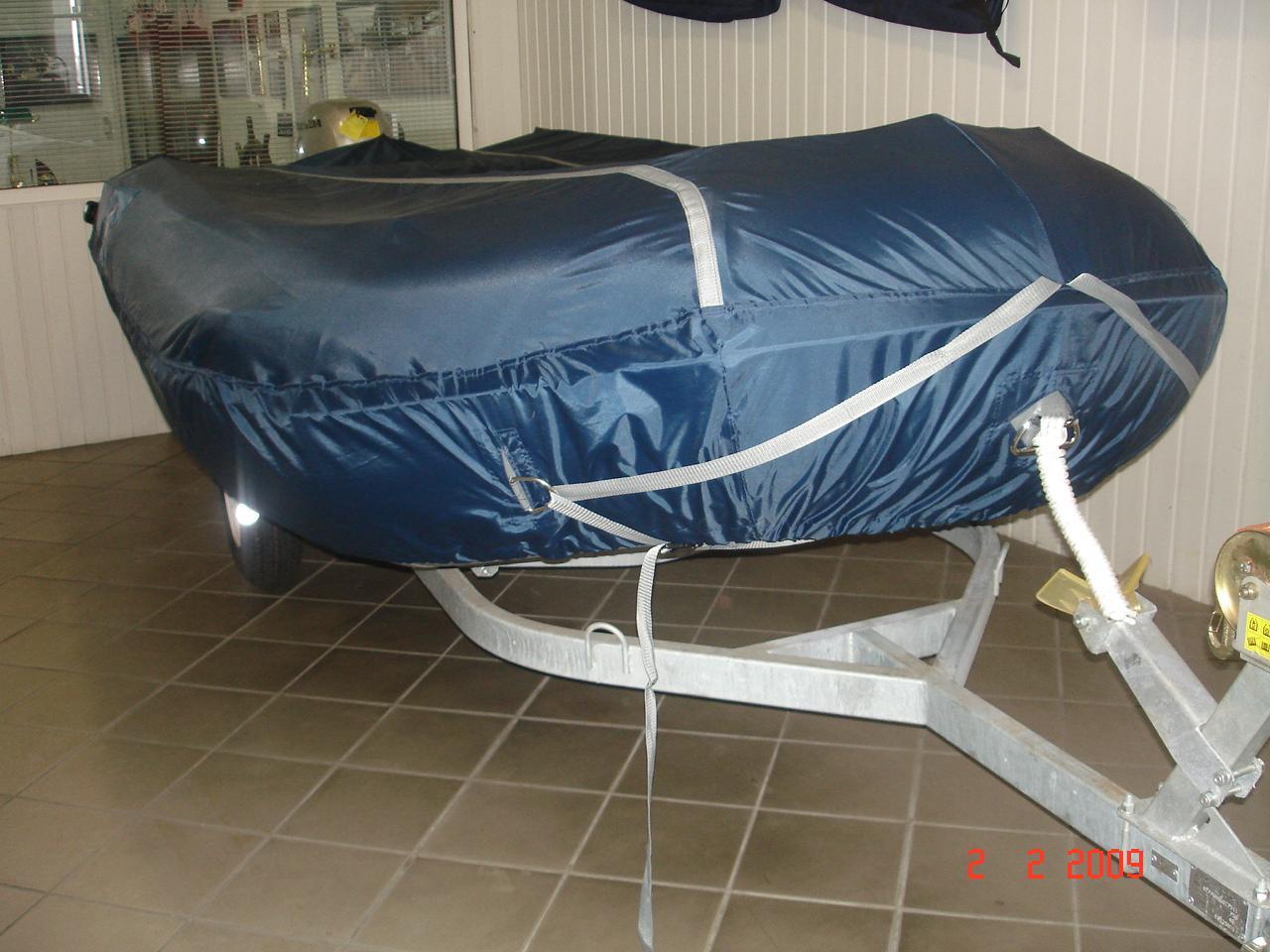 Как сделать транспортировочный тент для лодки пвх